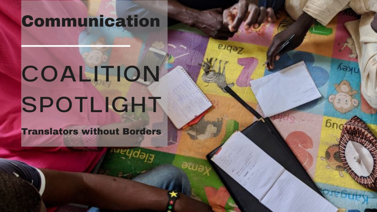 Translators without Borders launch first public language dataset for humanitarian use